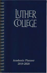 College Planners 2020 Academic Planner 2019 2020 Luther Book Shop