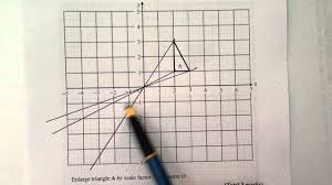How To Enlarge A Design Q2 Enlargement By Negative Scale Factor