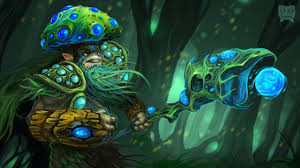 wallpapers dota 2 nature s prophet furion mage staff 2560x1440