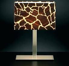 leopard lamp shades hourglass shape clip on chandelier sconce shade within animal print table lamps designs