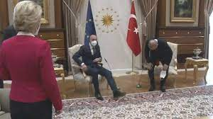 Welt   Von der Leyen auf Sofa verbannt: Kritik an Erdogan - Ankara