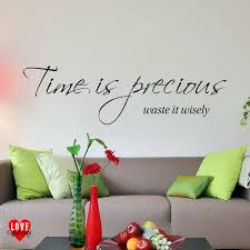 on serenity prayer wall art uk with time is precious waste it wisely wall art quote wall sticker