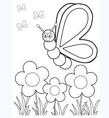 Trọn bộ những mẫu tranh tô màu con bướm dễ thương nhất cho bé