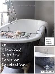Clawfoot Tub Interior Design Inspirations - Clawfoot tub bathroom