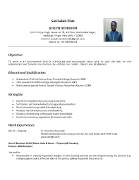 Luxury Resume For Back Office Job Ensign Example Resume And