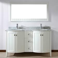 bridgeport 60 inch white double sink bathroom vanity