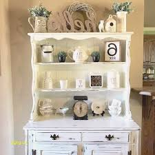 my hutch that i chalk painted and distressed for my rae dunn display love