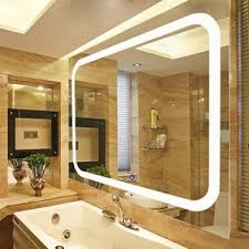 lighted wall mirror. led lighted vanity wall mirror d