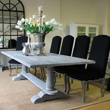 12 Seat Outdoor Dining Table Louis Xv Avignon Refectory Dining Table Cloudy Grey Solid Timber