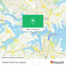 Ballast Point Park How To Get To Ballast Point Park In Birchgrove By Bus Or