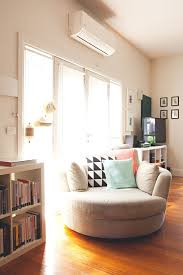house tour a happy colorful home in australia cuddler chairreading chairs comfy