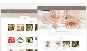 Wedding Website Template Delectable 48 Wedding Website Templates