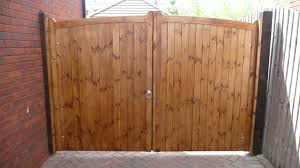 wood fence double gate. Wood Gate For Rustic Double Plans And Fence Kit