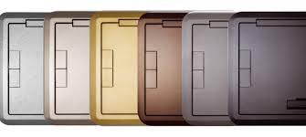 Evolution Series Floor Boxes Multiple Floor Types