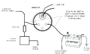 amp gauge wiring diagram wiring diagram var amp gauge wiring diagram