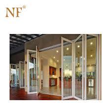 Door Vinyl Design Pvc Interior Aluminum Frame Glass Vinyl Folding Door Buy Pvc Interior Folding Door Vinyl Folding Door Frameless Glass Folding Door Product On