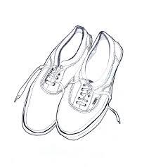 vans shoes drawing. drawing shoes vans