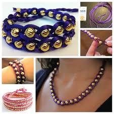 Braided Bracelet Patterns Enchanting Wonderful DIY Braided Bracelet With Bead