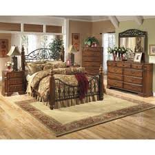 Orlando Bedroom Furniture Ashley Furniture Wyatt Poster Bedroom Set Best Priced Quality