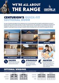 sectional doors flyer qld nsw vic sa
