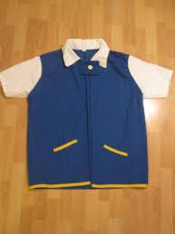pokemon ash ketchum trainer costume shirt jacket medium large