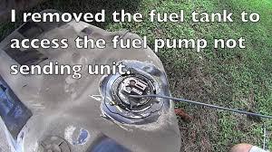 diy how to fix a stuck fuel gauge honda accord sending unit diy how to fix a stuck fuel gauge honda accord sending unit repair and location
