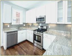 granite kitchen countertops with white cabinets. Simple Granite Elegant Kitchens White Granite Kitchen Countertops Collection Concept From  With Cabinets And With