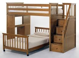 bedroom loft bed with desk ikea storage idea bookcase plan checd fur rug white curtain shutter