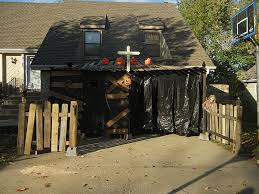 Halloween Haunted House Ideas Garage Halloween Houses Ideas And Design