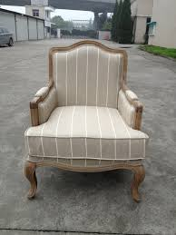 classical french antique wooden fabric living room chairs living room armchair styles