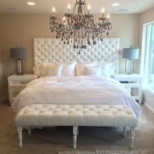 white velvet headboard.  White ExtraWide King Diamond Tufted Headboard And Bench Set In White Velvet And Velvet B