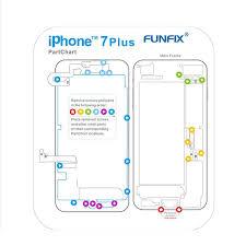 Us 6 02 10 Off 7 In 1 Guide Magnetic Screw Keeper Memory Chart Mat For Iphone Compatibe 6 7 7 Plus Teardown Repair Guide Pad Phone Tools In Hand