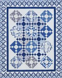 Quilting Color Trend: Blue | AllPeopleQuilt.com & Classic Blue Heirloom Quilt Adamdwight.com