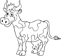 Small Picture Cow Coloring Pages Gianfredanet