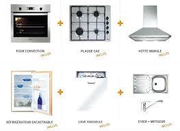 Cuisine Complete Pas Cher Avec Electromenager Cuisine Acquipace Avec
