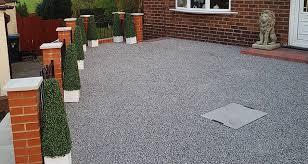 30m² x grid gravel driveway