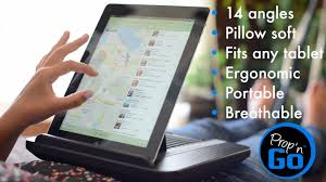 prop n go lap desk for ipad and kindle