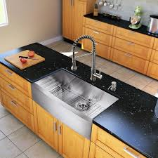 vigo all in one 36 inch farmhouse stainless steel kitchen sink and