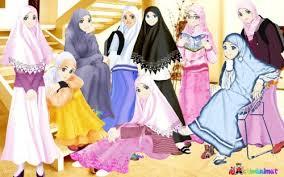 Anjuran Wanita Memakai Jilbab