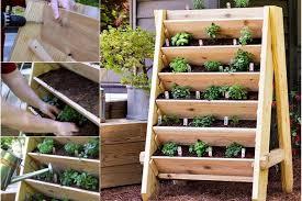 vibrant vertical garden pyramid planter guide and