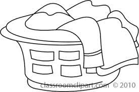 laundry clipart black and white. Exellent White Black And White Folded Laundry Clipart Suggest With U