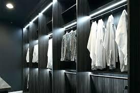 closet lighting led.  Closet Best Led Closet Light Track Lighting Walk In  With Lights System Intended Closet Lighting Led