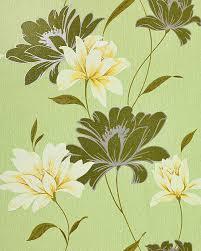 Bloemen Behang Structuur Vinylbehang Edem 168 35 Design Behangpapier