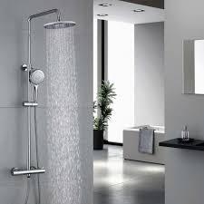 Homelody Thermostat Duschsystem Duscharmatur Regenduschset Dusche Inkl Verstellbar Handbrause Regenbrause