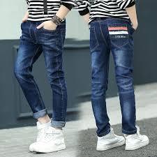 Childrenswear <b>Boy's</b> Denim <b>Trousers</b> Spring And Autumn Casual ...
