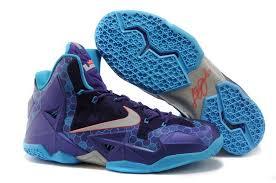 lebron purple shoes. nike lebron 11 \u0027hornets\u0027 court purple silver blue basketball shoes | outlet for sale h