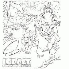 25 Printen Ice Age Series Kleurplaat Mandala Kleurplaat Voor Kinderen