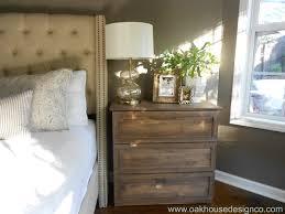 Nightstand For Bedrooms The New Nightstands An Ikea Tarva Hack Oak House Design Co