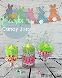 Decorated Candy Jars DIY Easter Candy Jars 32