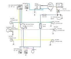 my led light system segolsson s home fyi this wiring diagram is based on how the electrical system on my 1989 yamaha fs1 is wired just simplified it a bit